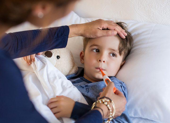 Når barnet er forkjølet