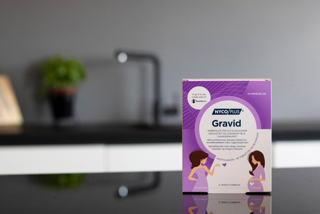 Nycoplus Gravid kjøpes på apotek