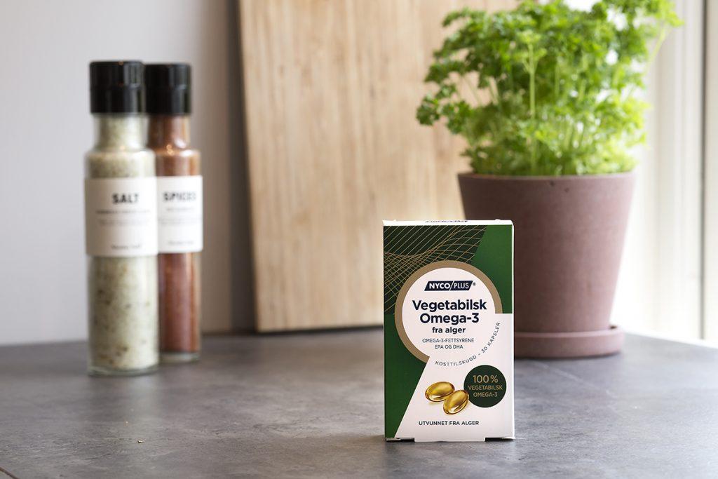 Vegetabilsk omega-3 kjøpes på apotek