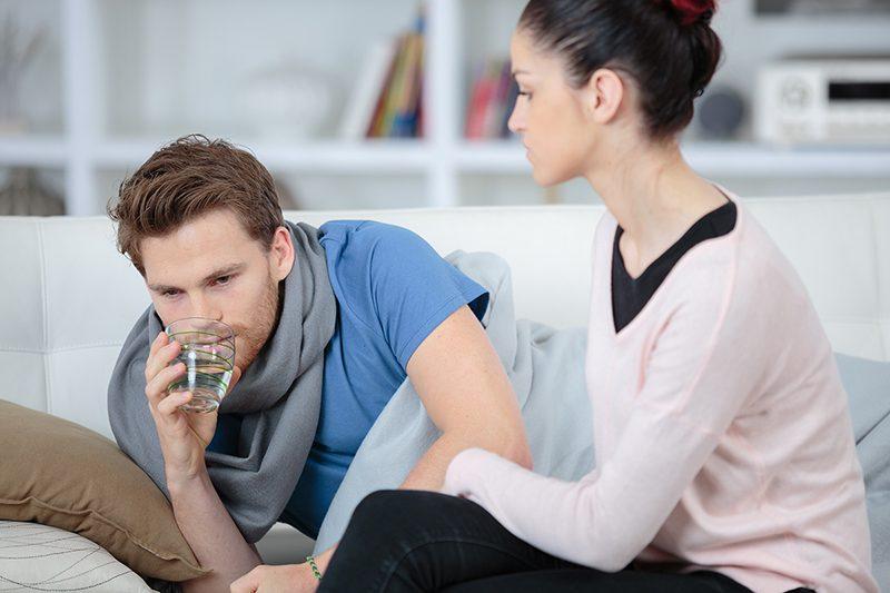 Er det bare manflu eller er typen din faktisk syk?