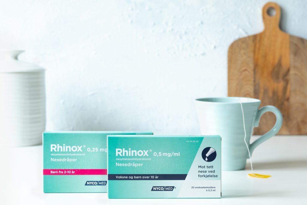 Nesedråper kan være et godt alternativ når du er forkjølet.