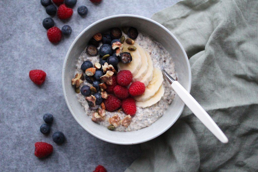 Energiboost i form av mat