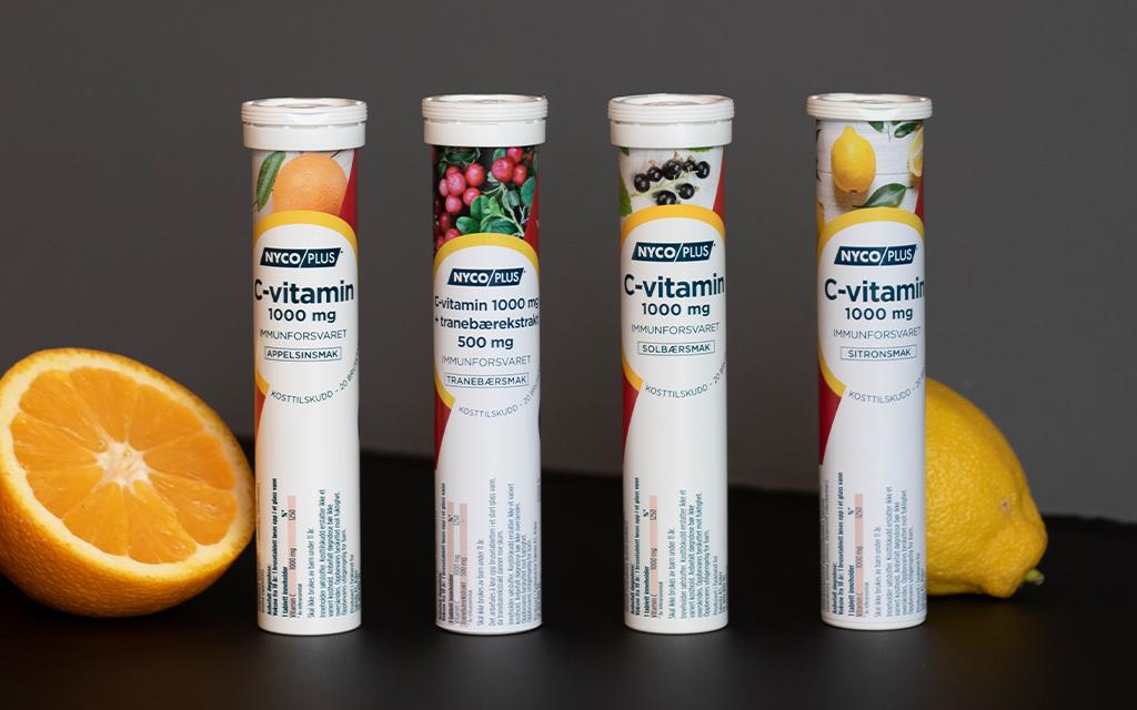 C-vitamin brusetablett
