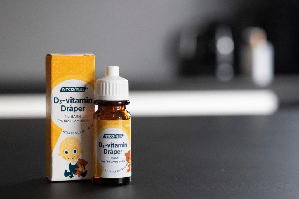 D-vitamindråper