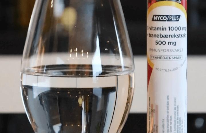 Nycoplus C-vitamin 1000 mg Tranebær
